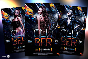 Cluber Flyer Template
