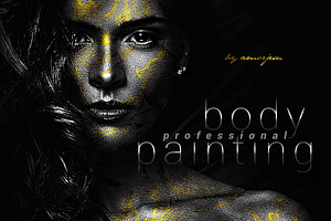 Professional Body Painting Photoshop Action