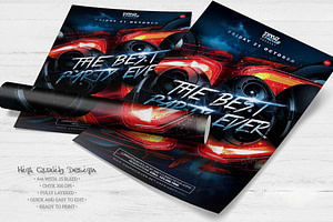 The Best Party Ever Flyer Template