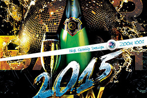 New Year Bash Flyer Template V2