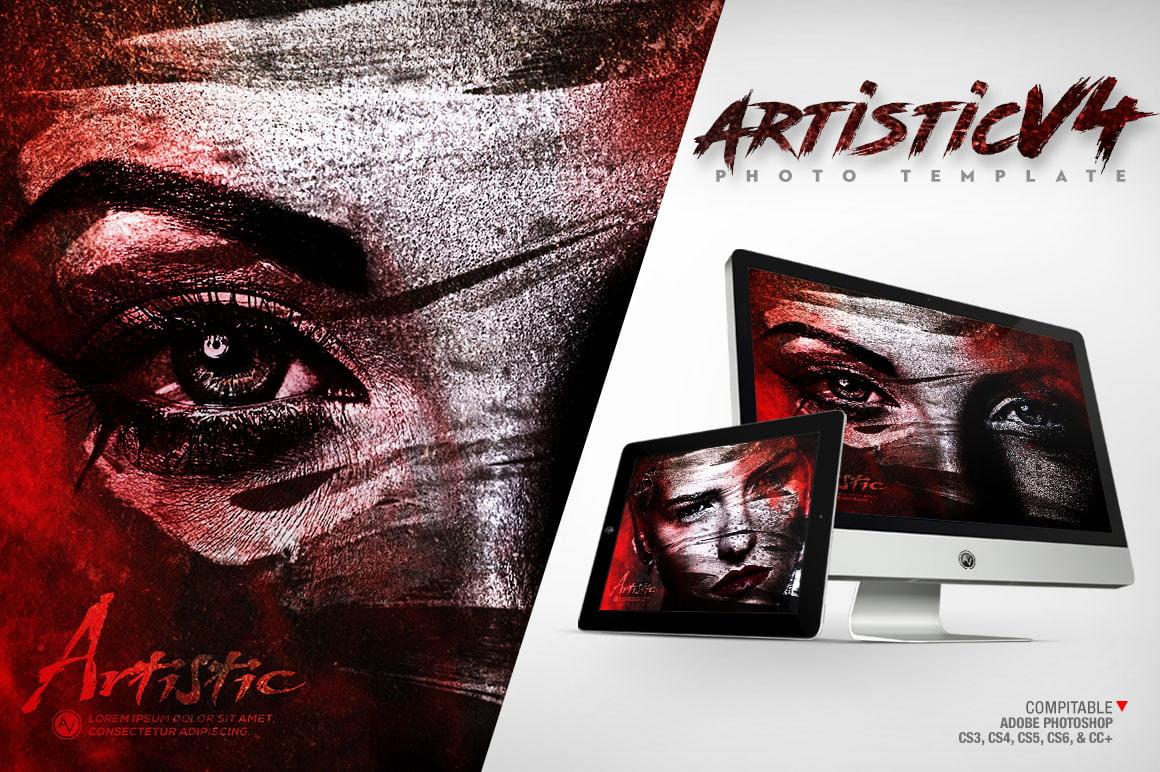 Artistic Photo Template V4