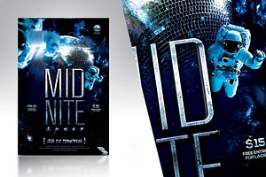 Midnite Space Flyer Template