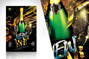 New Year Eve Flyer Template V2