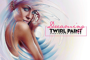 Dreaming – Twirl Paint Photoshop Action